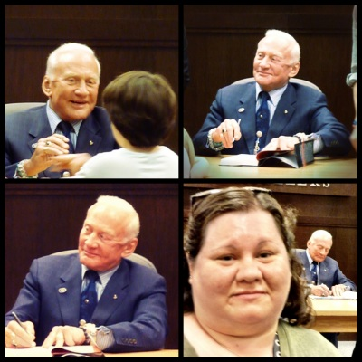 Buzz Aldrin collage